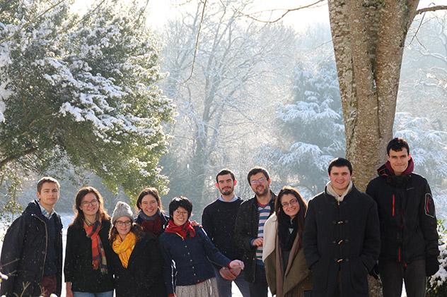 Neige à la Maison Saint-Jean