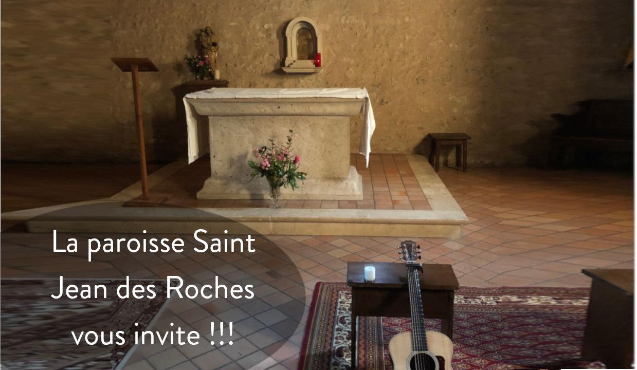 La paroisse saint jean des roches vous invite