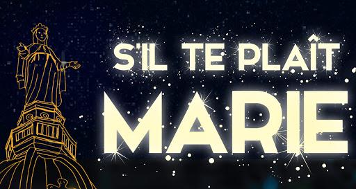 s'il te plaît Marie
